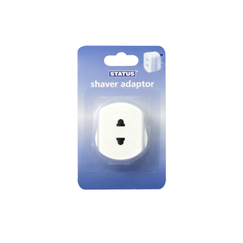 Status 1 Amp Shaver Adaptor Single Blister