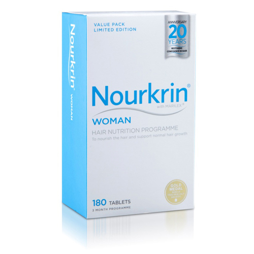 Nourkrin Woman Hair Nutrition programme 180 tablets 3 months