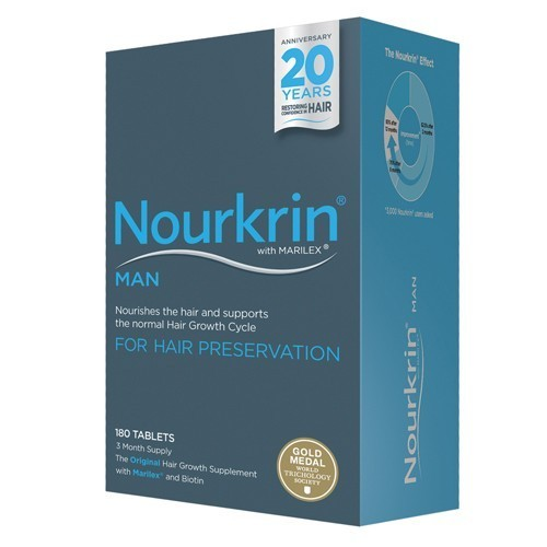 Nourkrin MAN Hair Preservation Programme 180 tablets 3 Months Supply