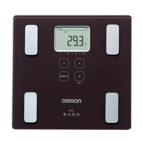 OMRON BF214 Body composition monitor Digital Compact Weight Scale