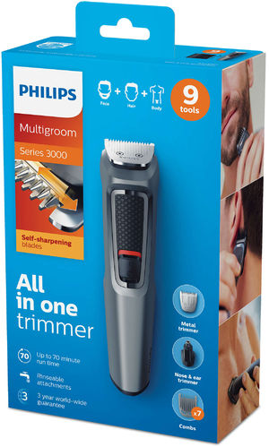 Philips Multigroom series 3000 9 in 1 Face, Hair and body MG3747