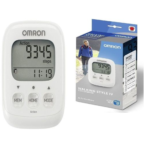 OMRON Walking style one IV HJ325 White Step Counter