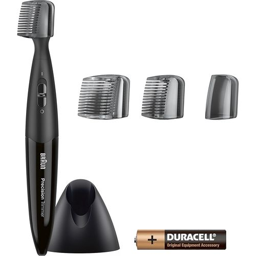 Braun Precision Trimmer PT5010 Battery Operated with two combs