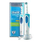 Braun Oral B Vitality Cross Action Blue Rechargeable Toothbrush with 1 Brush head