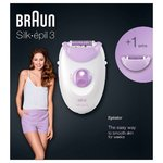 BRAUN Silk-épil 3 3170 Legs and arms epilator