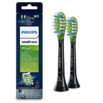 Philips Sonicare W3 Premium White 2 Black Standard sonic toothbrush heads HX9062/33