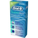 Oral B Super Floss Mint Flavoured dental floss 50 strands
