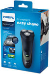 Philips Shaver series 1000 dry electric shaver – Cordless only